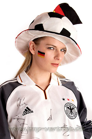 Deutschland Fan Tattoo