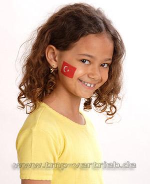 TMP - Türkei Tattoo - Türkei Fan - Türkei Fahne